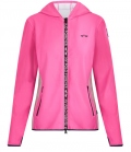 HV Polo Hoody Tech Sweat Zip Mersey FS´20 - fuchsia