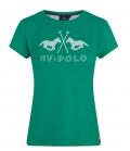 HV Polo Shirt T-Shirt Technical Jazzy Tech FS´20 - palmgreen