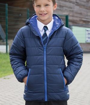 Textil Jacke Junior Reißverschluss Taschen