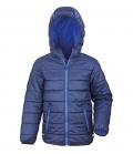 Textil Jacke Junior Reißverschluss Taschen - navy/royal