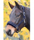 Busse Nylonhalfter Ideal mit Softfleecepolster - navy