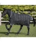 Horseware Turnoutdecke Rhino Wug Lite 0g 1000Den - schwarz-karo