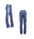USG Jodphurhose Damen Marina Jeans Full Grip - jeans blau used Optik
