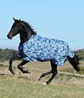 Bucas Turnoutdecke Freedom light Camouflage - blue camouflage