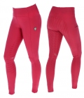 Covalliero Reitleggings Youth Limpara Full Grip - berry