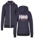 Busse Sweat-Jacke Hoodie Young Star - navy