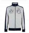 HV Polo Cardigan Dock FS´20 - grau-melange
