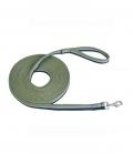 Busse Longierleine Soft 3-farbig super weich - olive/navy