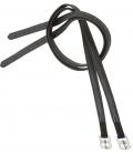 Barefoot Steigbügelriemen Barefoot Softleder - schwarz