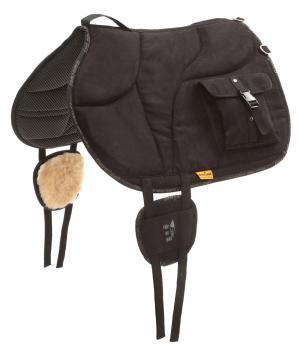 Barefoot Ride-On-Pad mit Taschen