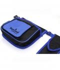 Barefoot Gürteltasche Muli-Belt 3-teilig - schwarz-blau