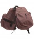 Barefoot Hornbag Doppeltasche Front - braun