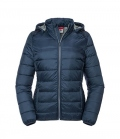 Textil Jacke Hooded Nano Men - navy