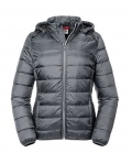 Textil Jacke Hooded Nano Men - irongrey
