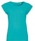 T-Shirt Melba Round Neck Women - caribbean