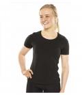 Back on Track T-Shirt Stretch Keramikfaser neu - schwarz