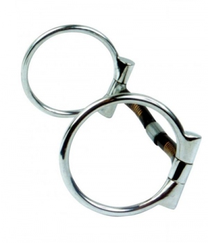 Wildhorn Western Billy Allen D-Ring Snaffle