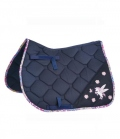 Busse Schabracke Flying Pony gesteppt** - navy