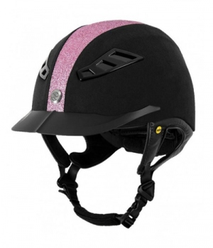 Back on Track Reithelm EQ3 Lynx Micromocca pink