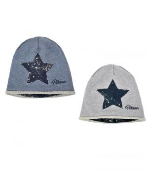 Pikeur Mütze Kinder Sweat-/Lurex mit Stern