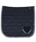 Imperial Riding Schabracke Symbol Heart - navy