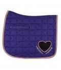 Imperial Riding Schabracke Symbol Heart - purple
