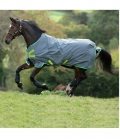 Horseware Turnoutdecke Amigo Hero 900D lite Disc - grau-green-lime
