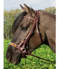 Wildhorn Sidepull Indian Spirit - rotbraun
