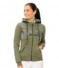 Spooks Sweat Jacket Roxie Sequin HW´20 - oliv