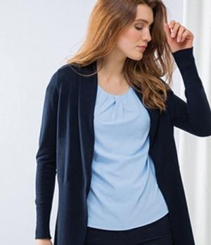 Textil Strick Longline Open Cardigan Henbury
