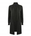 Textil Strick Longline Open Cardigan Henbury - grau