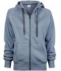 Textil Jacke Womens Sweat Fashion Full Zip Hood - flintstone