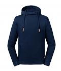 Textil Sweat Shirt Russell Pure Organic OEKOTEX - navy