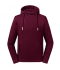 Textil Sweat Shirt Russell Pure Organic OEKOTEX - burgundy