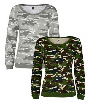 Textil Sweat Shirt Woman Malone Camouflage