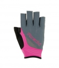 Roeckl Reithandschuhe Miami 3/4 Finger - grey-pink