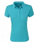 Pikeur Polo Shirt Damen Dasha Funktion FS`20 - caribbean