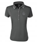 Pikeur Polo Shirt Damen Dasha Funktion FS`20 - anthracite