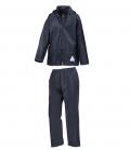 Textil Regenanzug Hose & Jacke Junior - dkl.blau