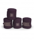 Eskadron Bandagen Fleece Set Heritage HW´20 - deepberry