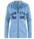 Wellensteyn Jacke Sweat mit Kapuze Lady Steuerbord - hellblau