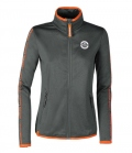 Eskadron Jacke Nicky Jersey Fleece Fanatics Women - grau orange