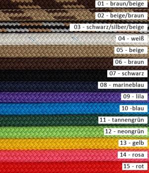 Brockamp Zügel geschlossen 10 mm Baumwollseil
