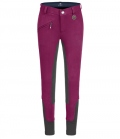 ELT Reithose Youth ELT Fun Sport BW GB - cranberry