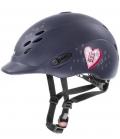 Uvex Reithelm Uvex Onyxx glamour - navy pink