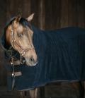 Kentucky Horsewear Abschwitzdecke Towel Rug Halsteil - schwarz
