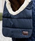 Kentucky Horsewear Horse BIB Winter Lammfell gegen Scheuern - navy
