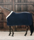 Kentucky Horsewear Abschwitzdecke Fleece Show Rug Heavy - navy