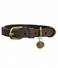 Kentucky Dogwear Hundehalsband Velvet Leather - brown