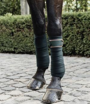 Kentucky Horsewear Bandagen Polar Fleece Klett-Verschluss
